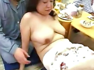 Asian Granny Homemade