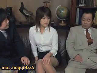 Asian Old and Young Secretary