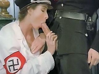 Vintage Army Blowjob