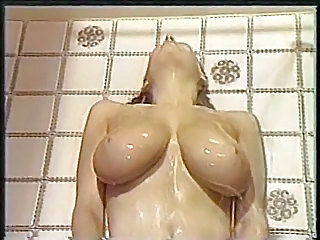 Big Tits Natural Showers