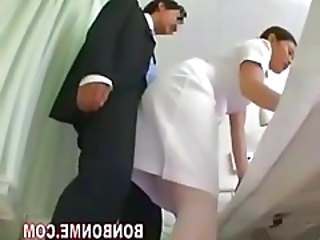 Asian HiddenCam Nurse