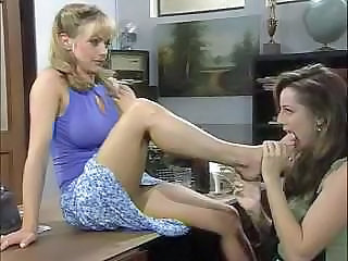Shayla LaVeaux Lesbian Scene With Two Other Whores