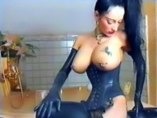 Big Tits Goth Latex