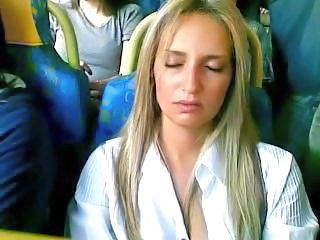 Bus Sleeping Public