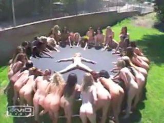 Orgy Squirt Outdoor