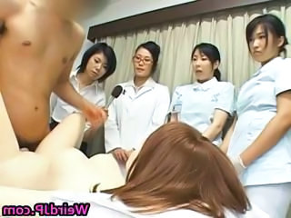 Asian female hospital workers part5