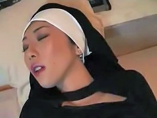 Asian Babe Masturbating