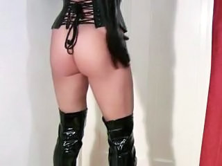 Ass Corset Latex