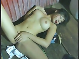 Amazing Asian Masturbating