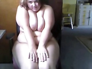 BBW Masturbating Webcam