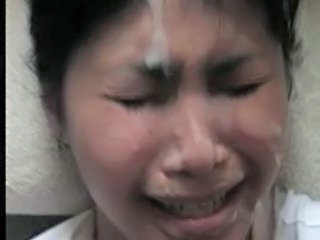 Asian Bukkake Facial