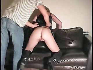 Amateur Spanking Of Dutch Housewife