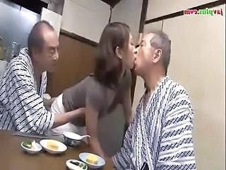 Daddy Family Kissing