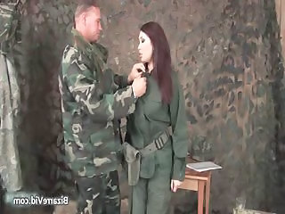 Army hot gangbang
