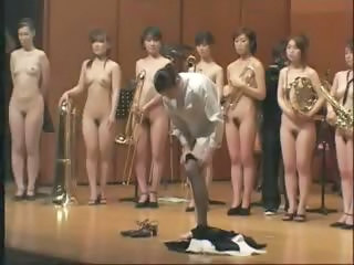 Weird Japanese Oddity Of A Naked Orchest...