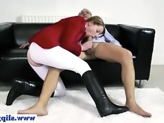 Daddy Blowjob Clothed