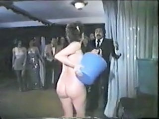 Funny Nudist Party