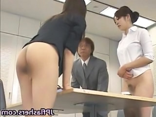 Office Pantyhose Asian