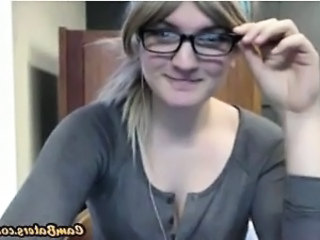 Glasses Student Webcam