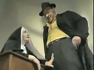 French Nun like Ass Fuck _: anal babes french hardcore vintage