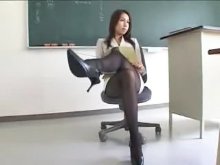 Sexy Japanese Teacher In Miniskirt Pantyhose Sex Tubes