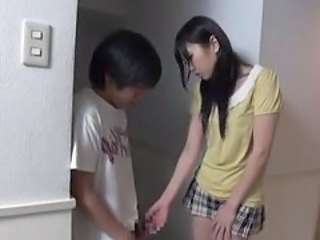 Asian Japanese Handjob