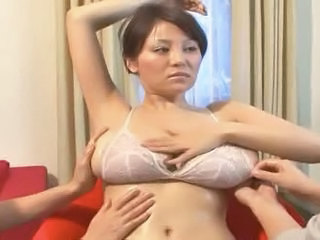 Oiled Asian Big Tits