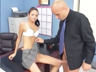 Skinny Office Teen