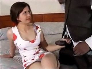 First Time Interracial Handjob