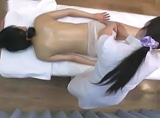 Oiled Asian Massage