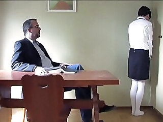 hard spanking of a schoolgirl