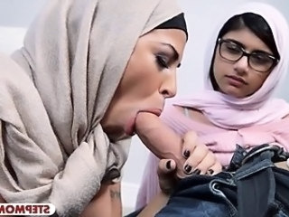 Arab Big Cock Blowjob
