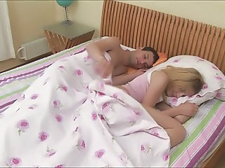 Blonde Sister Sleeping