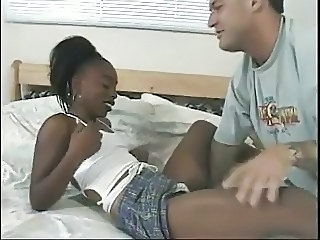 Ebony Interracial Teen