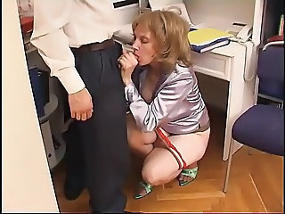 Blowjob Clothed Mature