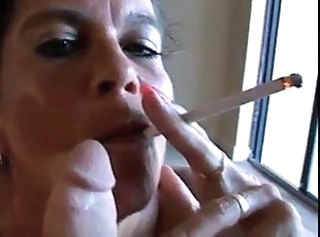 Smoking Amateur Blowjob