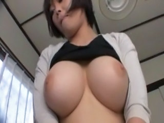 Sayuri is eager to please, pulling her man's dick out and starting to jerk...