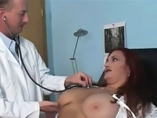 Big Tits Doctor Mature
