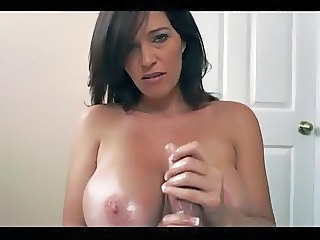 Amazing Big Tits Brunette