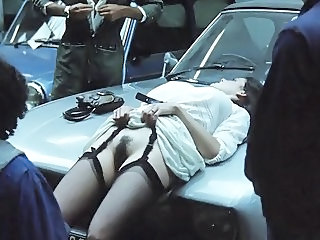 Car Gangbang Hairy MILF Outdoor Stockings Vintage