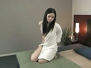 Asian Brunette Massage