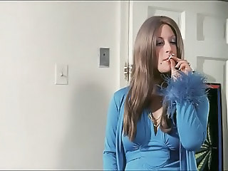 Smoking Long Hair MILF