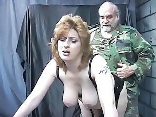 Army Daddy Big Tits