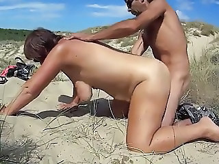 Nudist Doggystyle Beach