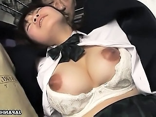 Bus Asian Babe