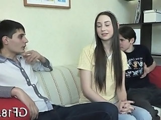 Cuckold Teen Brunette