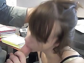 Blowjob Brunette European