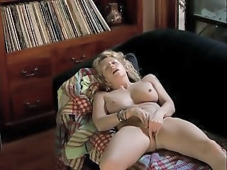 Orgasm Blonde Masturbating