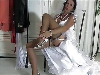 Bride Stockings Legs