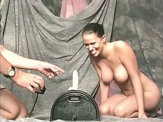 Machine Big Tits Brunette